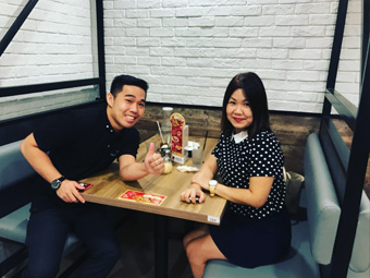 Kieran Yeo financial planner for cristina